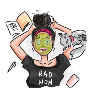 Rad Mom - illustration